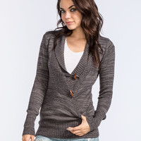 Rip Curl Alpine Womens Sweater Charcoal  In Sizes