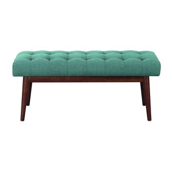 Henry Bench Ottoman TEAL
