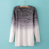 Gradient Fashion Sweater BADCA