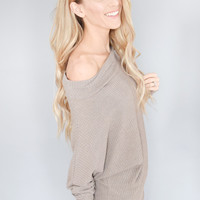 West End Thermal Mocha Top