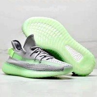 ADIDAS YEEZY BOOST 350 V2 Tide brand mesh breathable men's and women's sports shoes