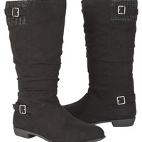 SWEATER BUCKLE SLOUCH BOOTS | GIRLS SHOES {PARENT_CATEGORY} | SHOP JUSTICE