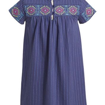 Girl's Tea Collection 'Feria' Embroidered Dress,