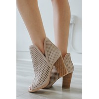 Imogen Booties - Taupe