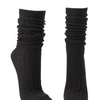 Ribbed Slouchy Boot Socks by Charlotte Russe
