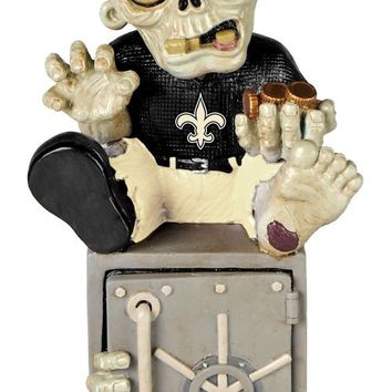 New Orleans Saints Zombie Figurine Bank