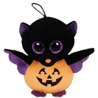 Ty Halloweenie Beanie Batty - Bat
