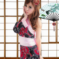 Sexy Japanese Kimono fancy Fancy Dress Geisha Halloween costume cosplay SALE SALE SALE!!!!
