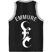 Emmure Men's  Crooklyn Basketball  Jersey Black