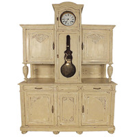 French Buffet with Grand Father Clock