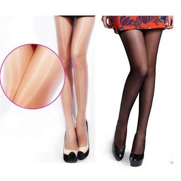 Sexy Women Shiny Sheer Stockings Tights Opaque Hosiery High Pantyhose