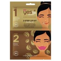 Yes To Coconut 2-Step Single Use Lip Kit Pucker Up!
