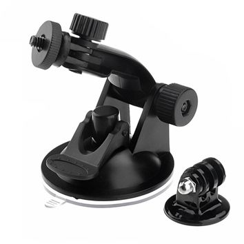 Vehicle Suction Cup Mount Tripod Adapter Camera Accessories For Gopro Hero 4 3 2 HD