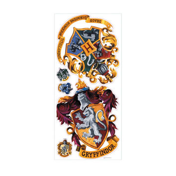 Roommates Home Indoor Room Decorative Wallpaper Sticker Hogwarts Crest Giant Wall Decals