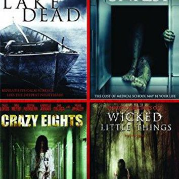 Lori Heuring & Scout Taylor-Compton & George Bessudo & J.S. Cardone -Four Film Collection: (Lake Dead / Unrest / Crazy Eights / Wicked Little Things)
