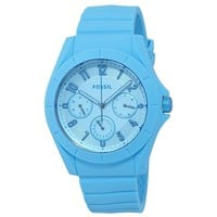 Fossil Poptastic Sport Light Blue Mens Multifunction Watch FS5287