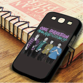 One Direction Tour Poster 2015 Singer Boyband Samsung Galaxy S3 Case