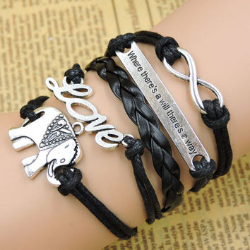 Shiny New Arrival Gift Stylish Awesome Hot Sale Great Deal Handcrafts Alphabet Bracelet [8995875020]