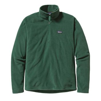 Patagonia Men's Micro D® 1/4-Zip Fleece Pullover | Malachite Green