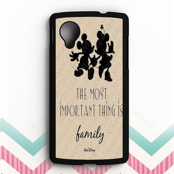Walt Disney Quote Nexus 5 Case