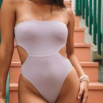 Axis One Piece in Orchid