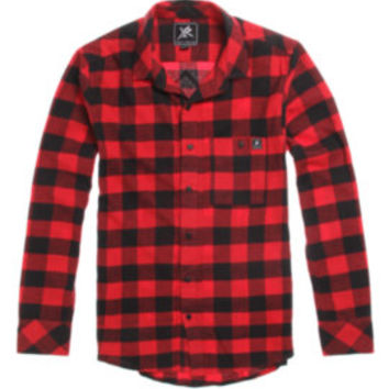 Young and Reckless Checkered Flannel Shirt at PacSun.com