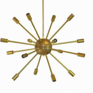 Mid Century Modern Sputnik Chandelier