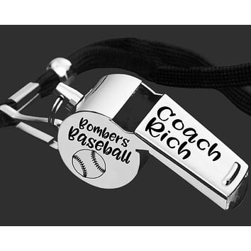 Baseball Coach Whistle | Personalized Whistle