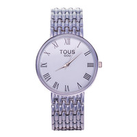 Awesome Good Price New Arrival Gift Trendy Great Deal Designer's Simple Design Stylish Men Casual Stainless Steel Band Watch [6544813315]