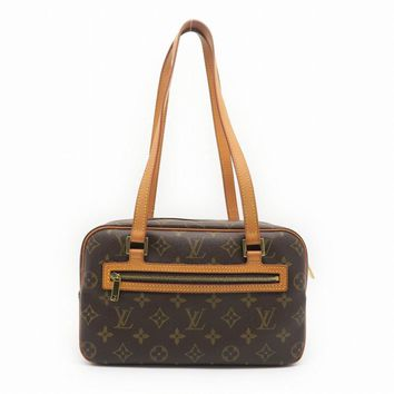Louis Vuitton Monogram Canvas Cite MM Shoulder Bag Brown M51182 8483