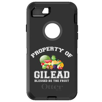 DistinctInk™ OtterBox Defender Series Case for Apple iPhone / Samsung Galaxy / Google Pixel - Blessed Be The Fruit - Property of Gilead