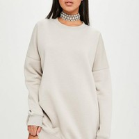 missguided oversized sweater dress nude - Google Search