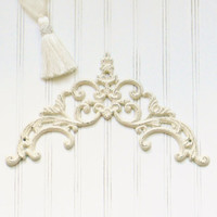 Cast Iron Wall Art, Choose Your Color, Picture Topper, Door topper, Cast Iron Wall Decor, Iron Wall Scroll, Shabby Chic Decor, Wall Art