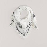 AEO Embroidered Scarf | American Eagle Outfitters