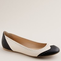 Women's shoes - ballets - Oxford ballet flats - J.Crew