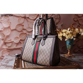 GUCCI WOMEN'S GG SUPREME CANVAS OPHIDIA HANDBAG SHOULDER BAG