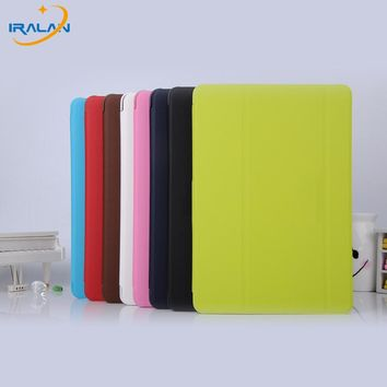 New for samsung galaxy tab E 9.6 T560 T561 Tablet leather cover protective shell business book case+ protective film +Stylus