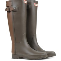 Hunter Two-Tone Back Strap Rain Boot - Two-Tone Back Strap Rain Boot