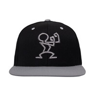 READY SNAPBACK - Black & Grey