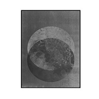 two moons / print