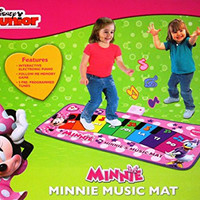 Disney Minnie's Music Mat Electronic Piano