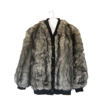 Plus Size Fur Coat Faux Fur Coat Women Winter Coat Women Winter Jacket Brown Faux Fur Coat Black Winter Coat Faux Fur Jacket Vegan Coat
