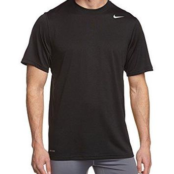Nike Men's Legend Dri-FIT Poly S/S Crew Top Black T-Shirt SM
