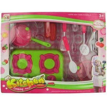 Kitchen Play Set with Food