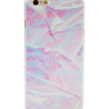 Iridescent Foil Wrap Case for iPhone 7