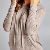 Soft and Cozy Hoodie - Cocoa