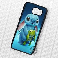 Cute Frog Lilo and Stitch - Samsung Galaxy S7 S6 S5 Note 7 Cases & Covers