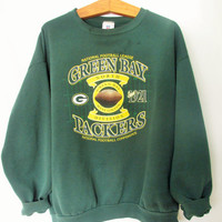 Vintage 1990s Green Bay Packers Sweatshirt