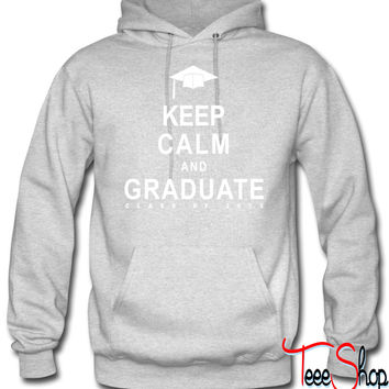 Class Of 2015 Keep Calm and Graduate hoodie