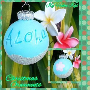 Aloha Beach Christmas Ornament